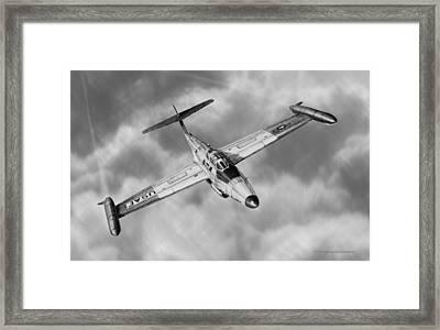 Northrop F-89 Scorpion Framed Print