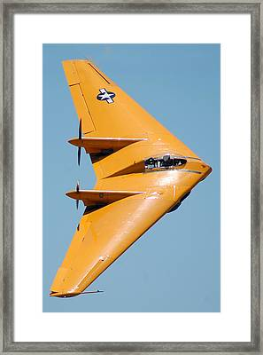 Northrop N9mb Flying Wing Framed Print