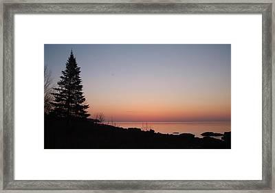 Northshore Morning.. Framed Print by Al  Swasey