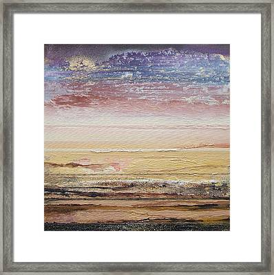 Northumberland Beach Low Tide 2009 Framed Print by Mike   Bell