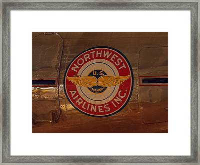 Northwest Airlines 1 Framed Print
