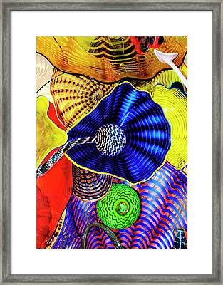 Northwest Glass 2 Framed Print