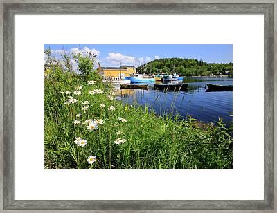 Northwest Harbour, Nova Scotia Framed Print