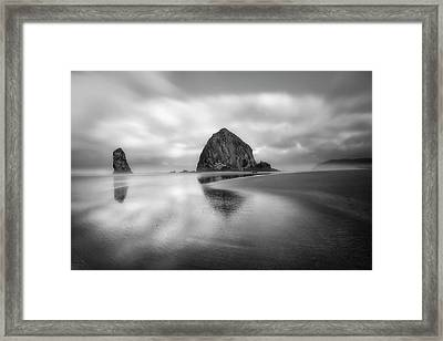 Framed Print featuring the photograph Northwest Monolith by Ryan Manuel