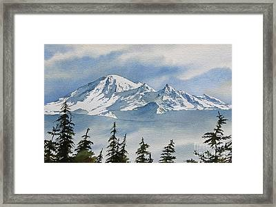 Northwest Mountain Framed Print by James Williamson
