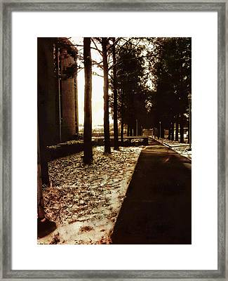 Northwest Passage Framed Print