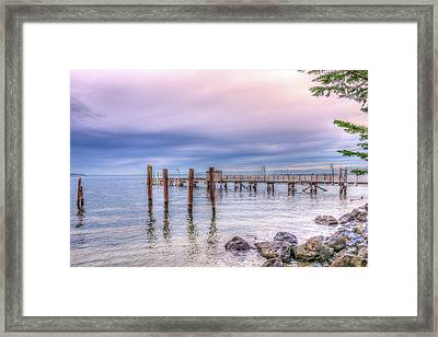 Framed Print featuring the photograph Northwest Sky by Spencer McDonald