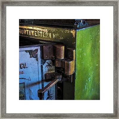 Framed Print featuring the photograph Northwestern Safe by Paul Freidlund