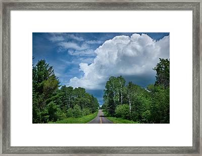 Northwoods Road Trip Framed Print by Steve Gadomski