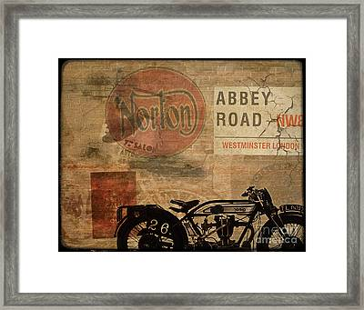 Norton Framed Print by Cinema Photography