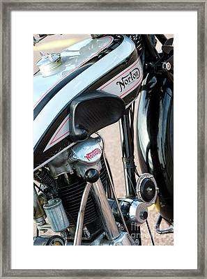 Norton Cs1 Framed Print by Tim Gainey