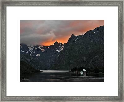 Norwegian Coast No. 2 Framed Print by Joe Bonita