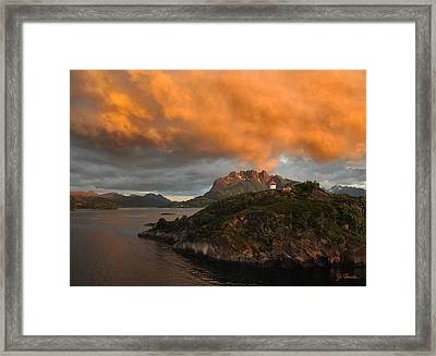 Norwegian Coast No. 6 Framed Print