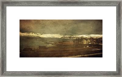 Norwegian Coast Framed Print by Vittorio Chiampan