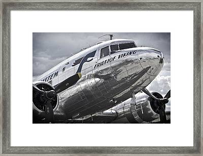 Norwegian Douglas D C-3 Aircraft Framed Print by Daniel Hagerman