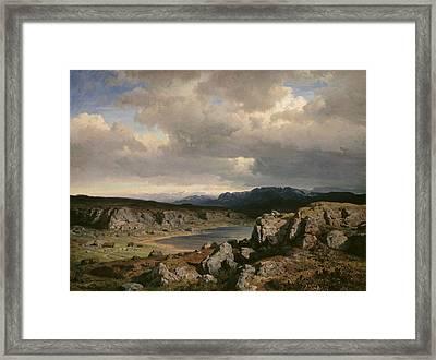 Norwegian Highlands Framed Print
