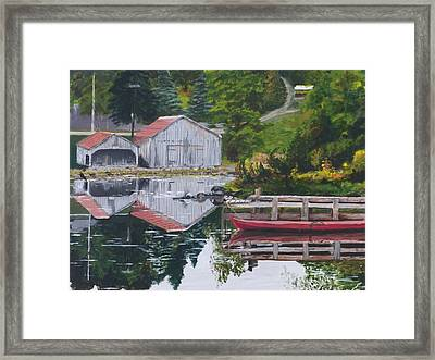 Norwegian Reflections Framed Print