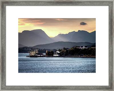 Norwegian Sunrise Framed Print