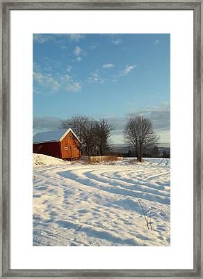 Norwegian Winter  Framed Print