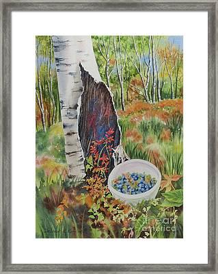Norwegian Wood Framed Print by Deborah Ronglien