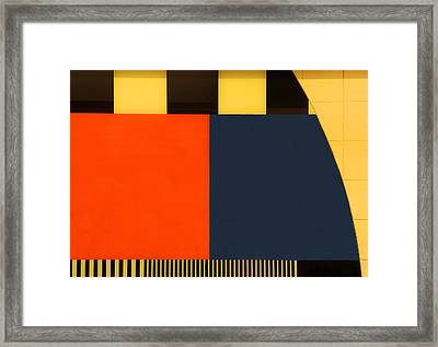 Nos Testscreen # 03 Framed Print