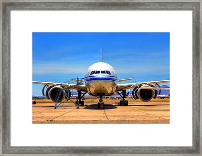 Nose Framed Print