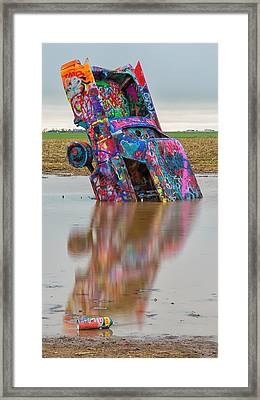 Framed Print featuring the photograph Nose Dive by Stephen Stookey