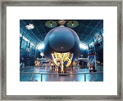 Nose Down - Enterprise Framed Print by Charles Kraus