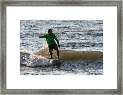 Noseriding Style Framed Print by AM Photography