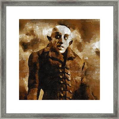 Nosferatu Framed Print by Mary Bassett