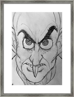 Nosferatu Framed Print