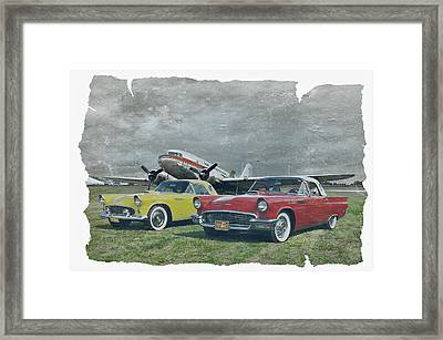 Nostalgia Airlines Framed Print