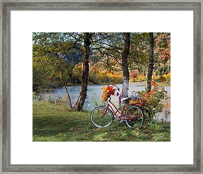 Nostalgia Autumn Framed Print by Leland D Howard