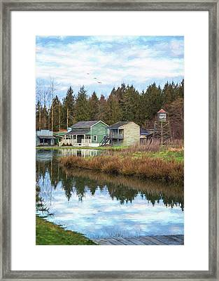 Nostalgia - Hope Valley Art Framed Print by Jordan Blackstone