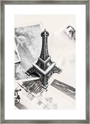 Nostalgia In France Framed Print