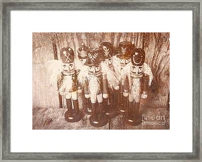 Nostalgic Childhood Mementos Framed Print