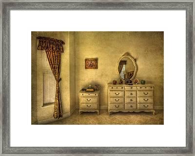 Nostalgic Harmonies  Framed Print by Evelina Kremsdorf