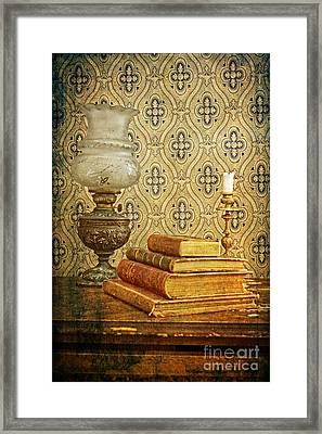Framed Print featuring the photograph Nostalgic Memories by Heiko Koehrer-Wagner