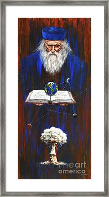 Nostradamus Framed Print by Arturas Slapsys