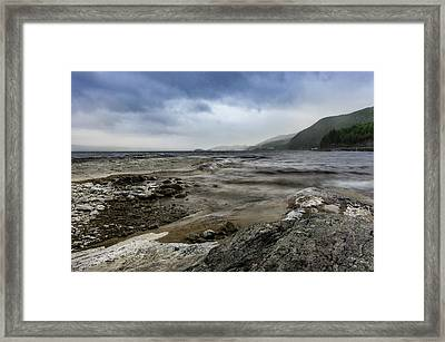 Framed Print featuring the photograph Not A Better Day To Go Fishing by Dmytro Korol