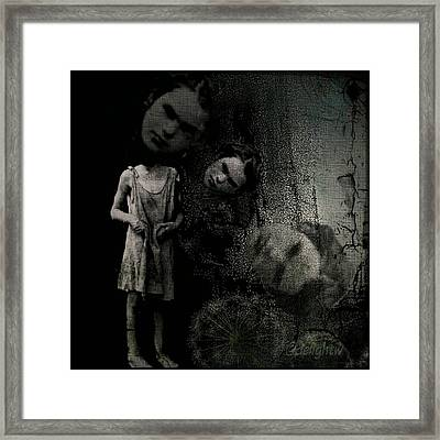 Framed Print featuring the digital art Not A Good Day by Delight Worthyn