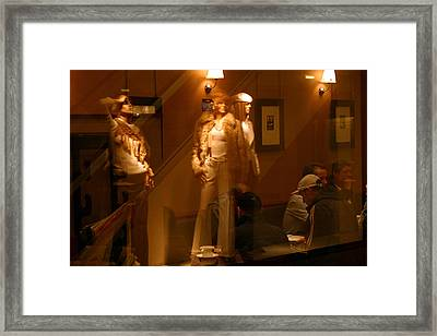 Not A Lot I Can Do Framed Print by Jez C Self