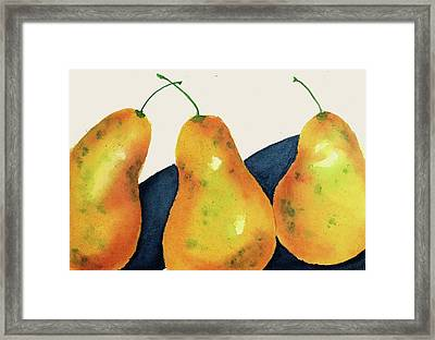 Framed Print featuring the painting Not A Pair II by Joan Zepf