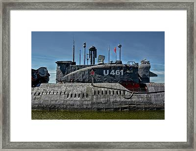 Not A Yellow Submarine Framed Print