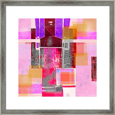 Not All In Heaven I Have Hated Framed Print by Danica Radman