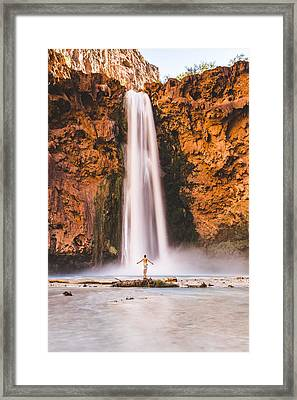 Not All Who Wander Are Lost Framed Print by Bill Cantey