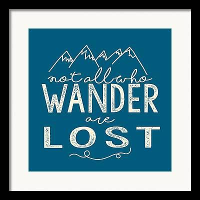 Wander Framed Prints
