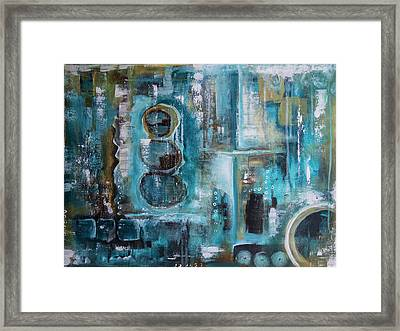 Not Alone Framed Print by Jocelyn Friis