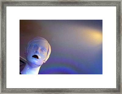 Not Amused Framed Print by Jez C Self