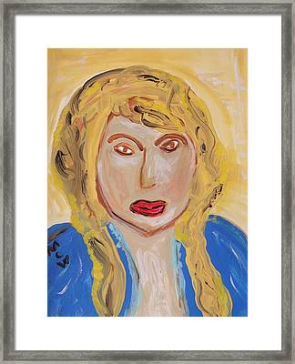Not An Angel Framed Print by Mary Carol Williams